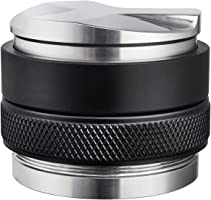 58mm Coffee Distributor & Tamper, MATOW Dual Head Coffee Leveler Fits for Portafilter, Increased Adjustable Depth-...
