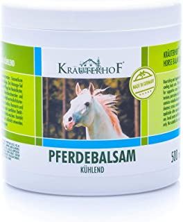 comprar comparacion Kräuterhof- Bálsamo de caballo, enfría y revitaliza, extracto valioso de hierbas de castaño de I...