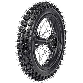 Fuerduo 70//100-17 Wheel and 1.6x17 Rim Inner Tube with 15mm Bearing /& 210mm Front Brake Disc Rotor for Dirt Pit Trail Bike