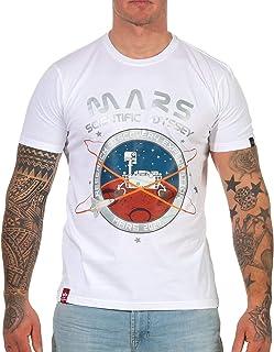 ALPHA INDUSTRIES Men's Mission to Mars T T-Shirt