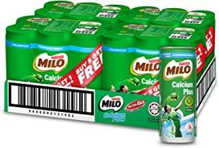 Milo Can Calcium Plus - Buy 5 Get 1 Free (1 Carton/24 Cans), 24 x 240ml
