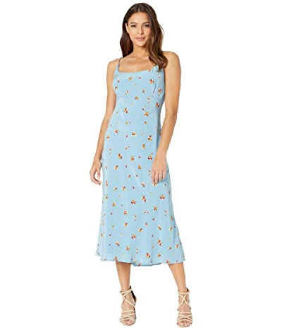ASTR the Label Joan Dress (Sky Blue Pansy) Women