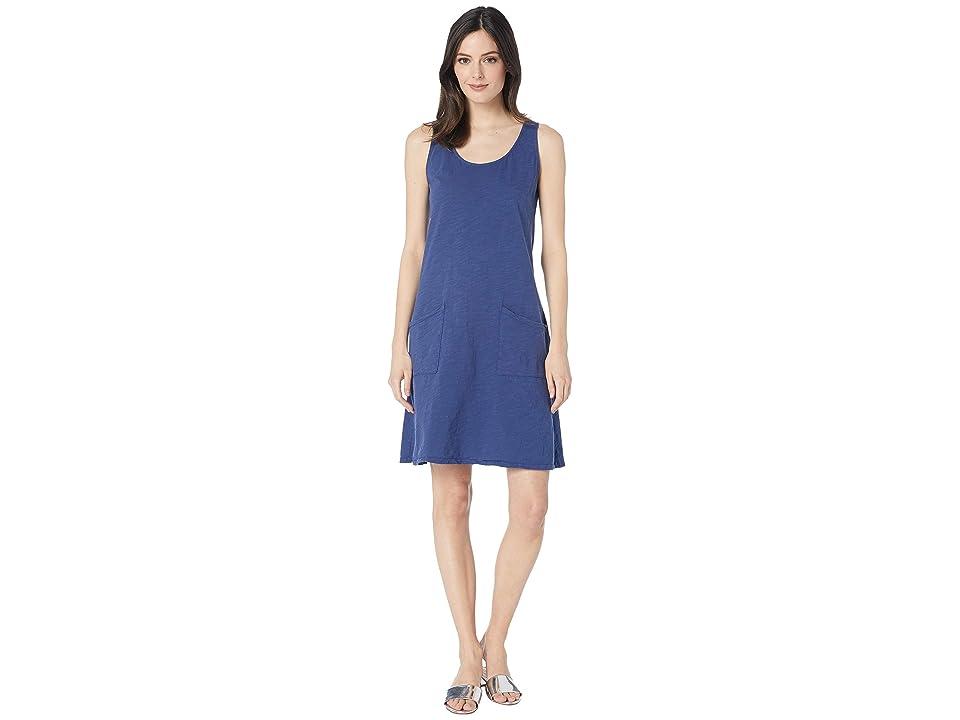 Fresh Produce Drape Dress (Moonlight Blue) Women