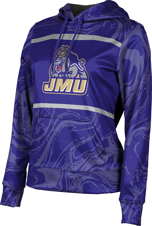 James Madison University Foundation Girls' Pullover Hoodie, School Spirit Sweatshirt (Ripple)