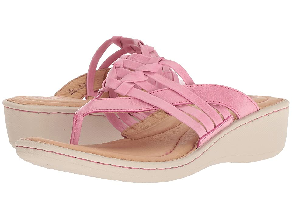Born Tansey (Pink Full Grain Leather) Women