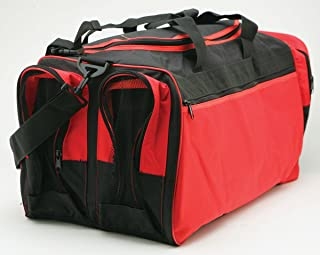 Martial Arts Bag with Mesh, Boxing MMA Deluxe Equipment Bag, TKD Bag, Karate Bag Red or Blue 13