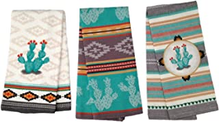 southwestern hand towels