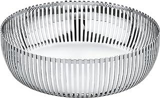Alessi PCH02/23 Design Obstschale aus Edelstahl, Glänzend Poliert