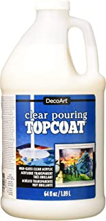 Decoart DS134-67 Clear Pouring Topcoat 64oz