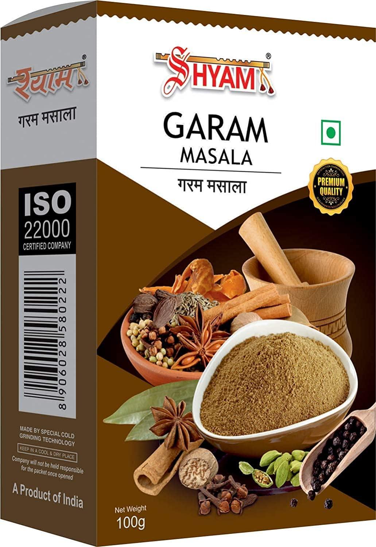 Gannon Shyam Al sold out. Garam Masala 100gm Phoenix Mall Powder