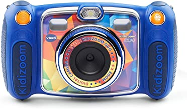 VTech Kidizoom Duo Selfie Camera, Amazon Exclusive, Blue (Renewed)