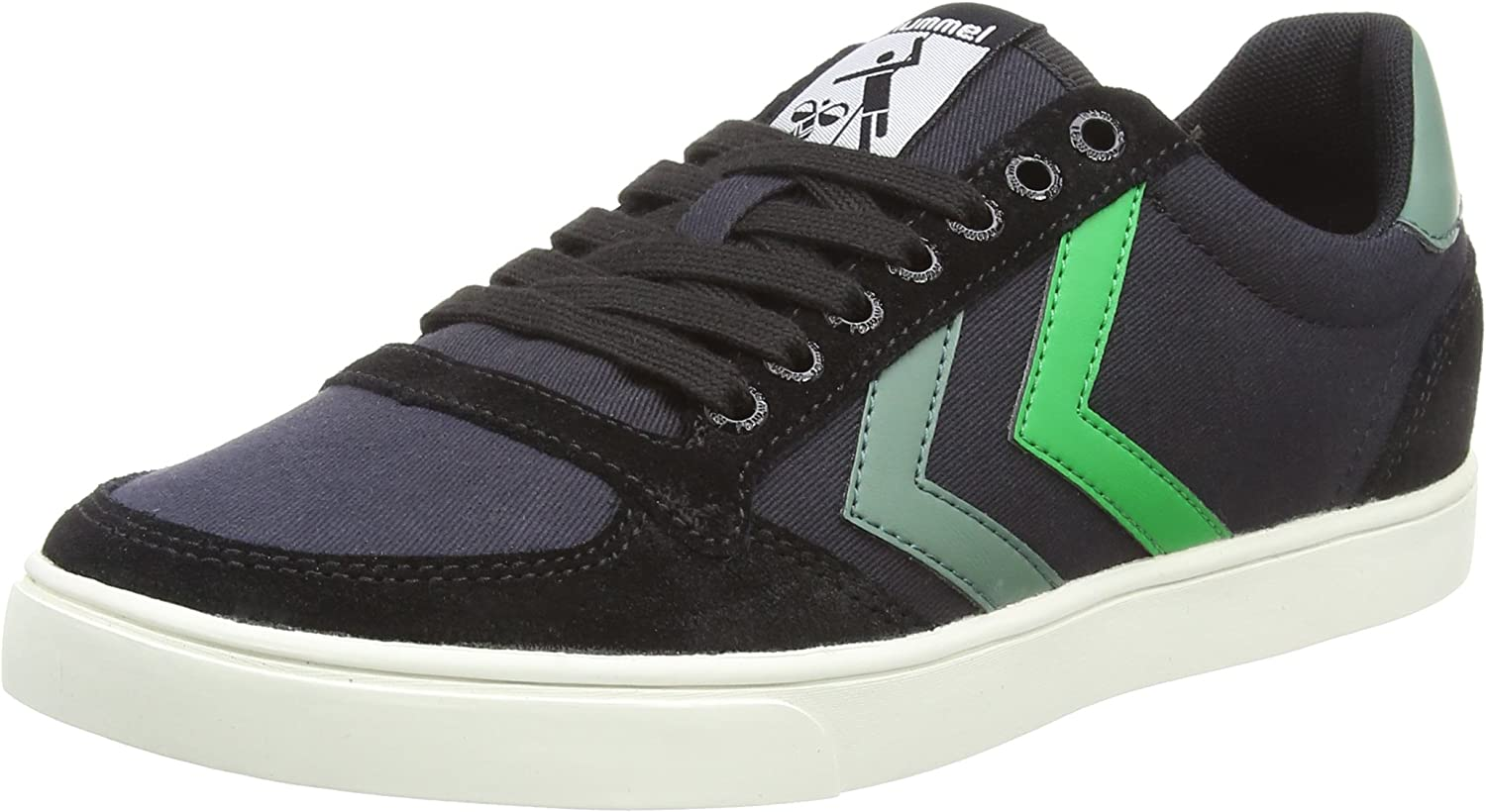 Hummel Unisex Adults' Slimmer Stadil Duo Canvas Low Trainers