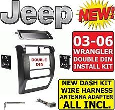 Wire Harness SE Sport Sahara TJ JK 1997 1998 1999 2000 2001 2002 97 98 99 00 01 02 Metra 1997-2002 Jeep Wrangler Car Radio Stereo Installation Double Din 2Din Dash Kit//Panel//Facia