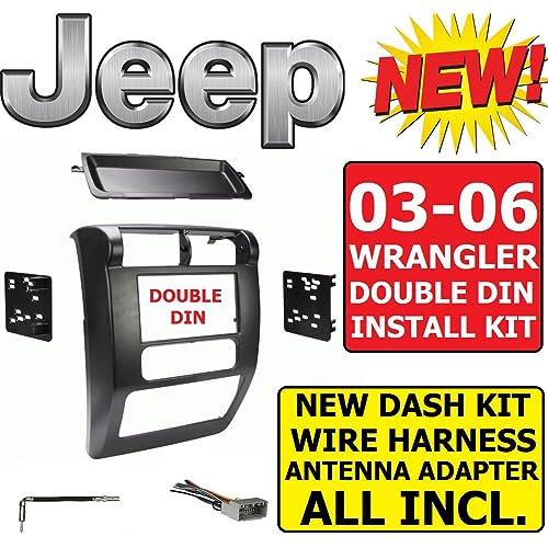 Jeep Wrangler Stereo Dash Kit: Amazon.com on jeep cj7 wiring-diagram, jeep wrangler aftermarket stereo, jeep wrangler wiring harness connectors, ford wiring harness, mazda wiring harness, nissan wiring harness, jeep wrangler trailer wiring, toyota wiring harness, jeep cj wiring harness, radio wiring harness, jeep liberty wiring harness, jeep commander wiring harness, jeep wk wiring harness, jeep tow wiring harness, 1995 jeep wiring harness, jeep trailer wiring harnesses, jeep xj wiring harness, jeep wrangler wiring diagram, fj cruiser wiring harness, dodge wiring harness,