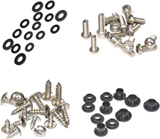 Standard Motorcycle Fairing Bolt Kit For Kawasaki Ninja ZX-12R 2000-2001 Body Screws, Fasteners, and Hardware