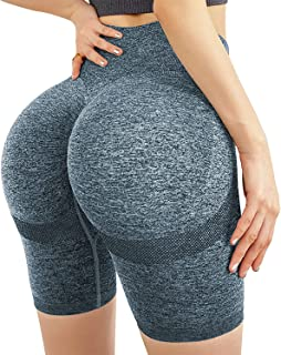 Athletic Shorts for Women 2 in 1 Workout Running Shorts with Pockets Fitness Shorts