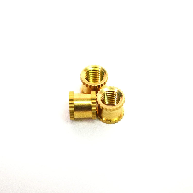JJ Products Inc M5 Brass Insert service 6 OD mm 6.5mm Sacramento Mall Lengt 50pcs