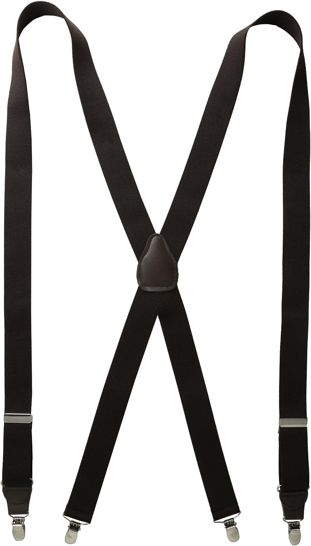 Status Men's Tall Plus Size Suspenders 11/4
