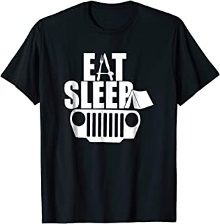 Eat Sleep Jeep Shirt Jeep Family Jeep Lovers Tshirt