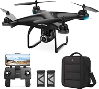 Holy Stone HS120D GPS Drone with Camera for Adults 2K UHD FPV, Quadcotper with Auto Return Home,...