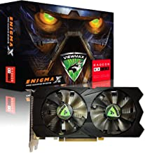 ViewMax ENIGMAX Radeon RX 560 4GB GDDR5 128-Bit DirectX 12 PCI Express 3.0 DVI-D Dual Link, HDMI, DisplayPort, PRO Gaming ...