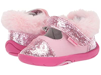 pediped Sassy Grip n Go (Toddler) (Pink) Girl