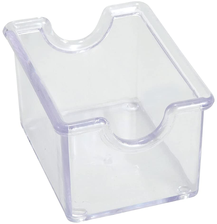 Winco 12-Piece Clear Sugar Packet Holder