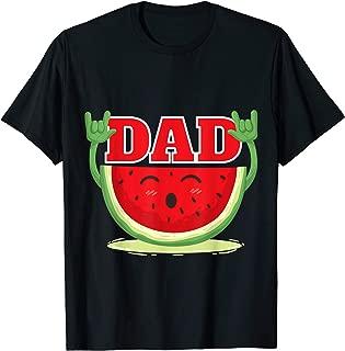 Mens Watermelon Dad - Melon Dad Juicy Fruit Lover T-shirt