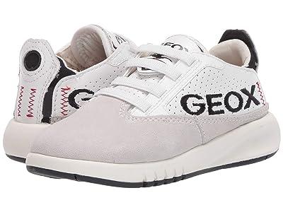 Geox Kids Aeranter D 1 (Little Kid) (Grey/White) Boy