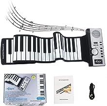 AiersiRoll Up Piano Foldable Piano Flexible Soft Electric Di