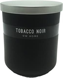 DW Home Tobacco Noir Scented Large 2 Wick Richly Scented Candle