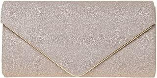 Evening Clutch, Womens Shining Envelope Clutch Purses, Handbag for Wedding & Party