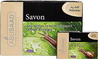 ABUSAAD Savon Anti Melasma Taches De Rousseur À L'Extrait D'Escargot Soap - Set Of 12 Pieces