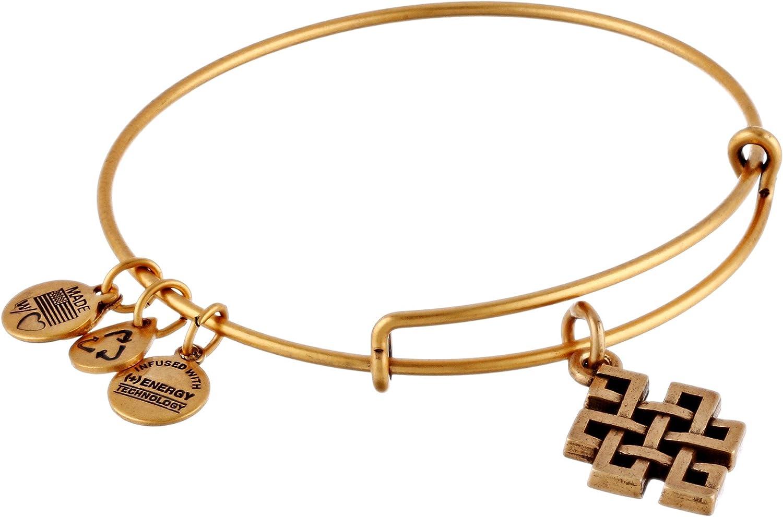 Alex and Ani Endless Knot Bangle Bracelet