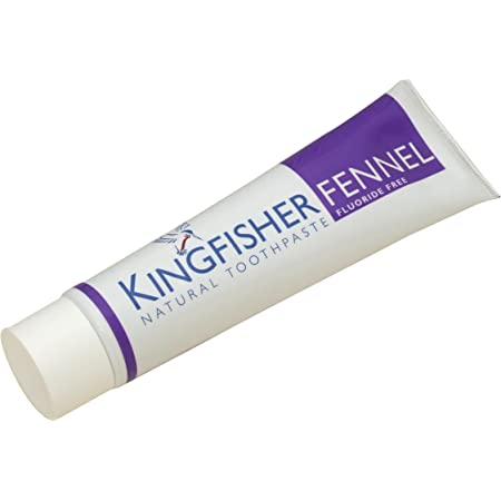 Kingfisher 100 ml Fluoride Free Fennel Toothpaste - by Kingfisher