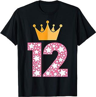 12 Anni Compleanno Bambino Bambina Bimba Regalo Anno 2009 Maglietta