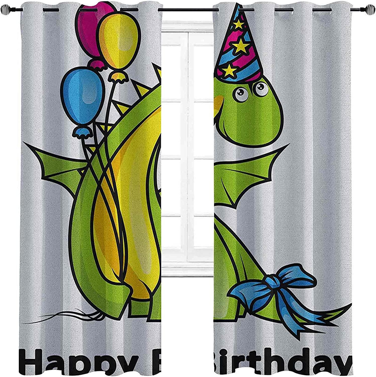 Kids Birthday Blackout Curtains Safety and trust with Grommets Little Bab Los Angeles Mall darken