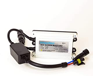 Innovited 55w Ac HID Slim Digital Ballast for H1 H3 H4 H7 H10 H11 9005 9006 D2r D2s Universal Fit