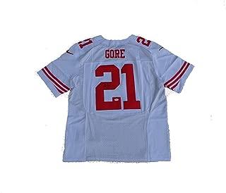 Frank Gore Autographed Jersey - WHITE - JSA Certified - Autographed NFL Jerseys