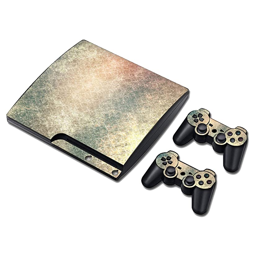 Decal skin cover Sticker vinyl pvc For Playstation 3 Slim console and controllers for PS3 slim,0207