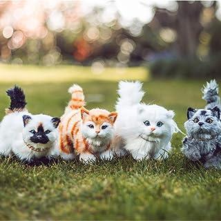 لوازم جانبی حیوانات خانگی عروسک عروسک 18 اینچی Queen's Treasures ، مجموعه ای از 4 مجموعه حیوان خانگی عروسک گربه واقعی ، سازگار برای بازی با عروسک های دختر آمریکایی