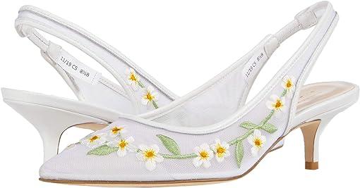 White Mesh Flower