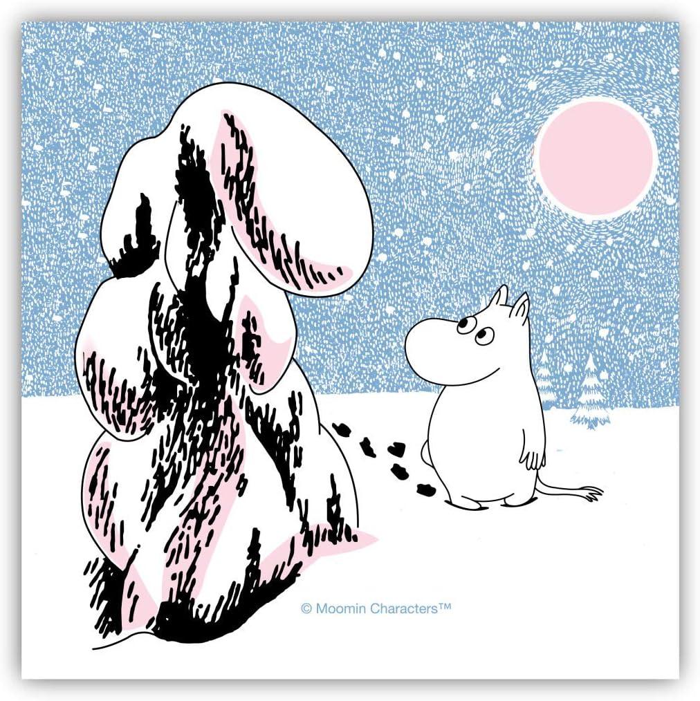 Moomin Paper Napkins Snow Crown Load Charlotte Mall Financial sales sale 33 cm x pcs 20