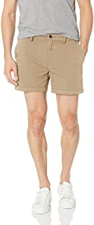 "Amazon Brand - Goodthreads Men's Slim-Fit 5"" Inseam Flat-Front Comfort Stretch Chino Shorts"