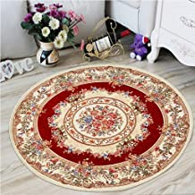 Comfortable Doormat Carpets Round Rug Carpet Round Shape Bedroom mat Living Room Household Room Carpet Home Decor Home Tex...