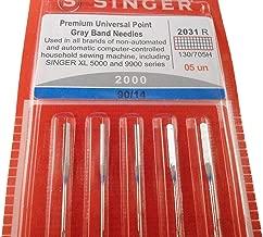 Genuine Singer Premium Universal Point Gray Band Sewing Machine Needles 2000 - Size 90/14-5pcs Pack