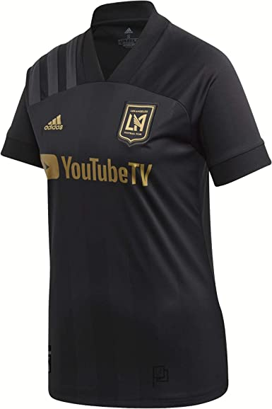 adidas Los Angeles FC Home Womens Jersey