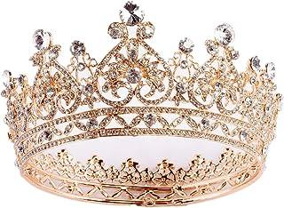 SuDeLLong Diademi della Corona Regina Corona Hairband Copricapo Ragazza del Copricapo della Sposa Concorso di Bellezza Pri...