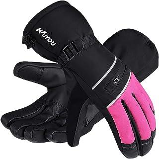 Ski Gloves Waterproof Winter Warm Gloves Snowboard Gloves 3M Thinsulate Insulated