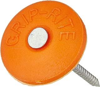 Grip Rite GC112 1-1/2-Inch Round Plastic 2,000 Count